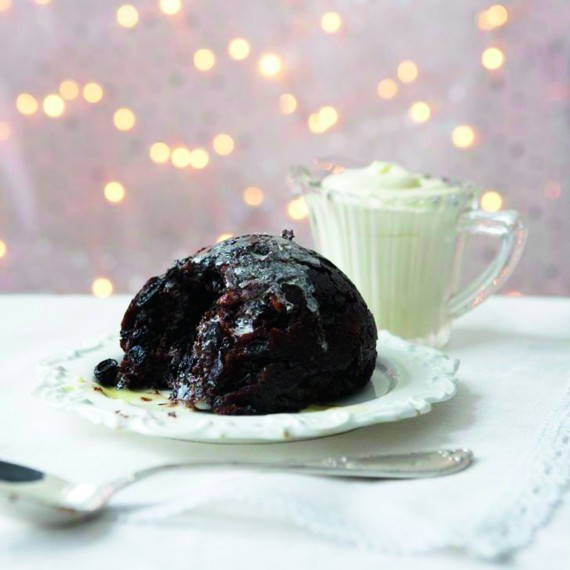 Fruit-Laden Christmas Pudding recipe-christmas recipes-recipe ideas-new recipes-woman and home