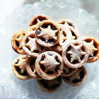 Star-topped mince pies recipe