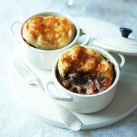 Chestnut, mushroom and cider pie recipe