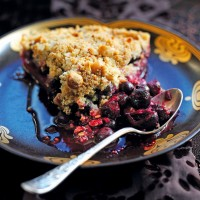 Berry streusel tart recipe