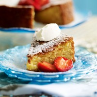 Almond, polenta and honey cake recipe