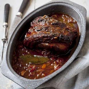 Pot-Roast Beef Brisket with Madeira and Tomatoes