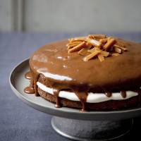 Sticky date cake with salted butter caramel recipe
