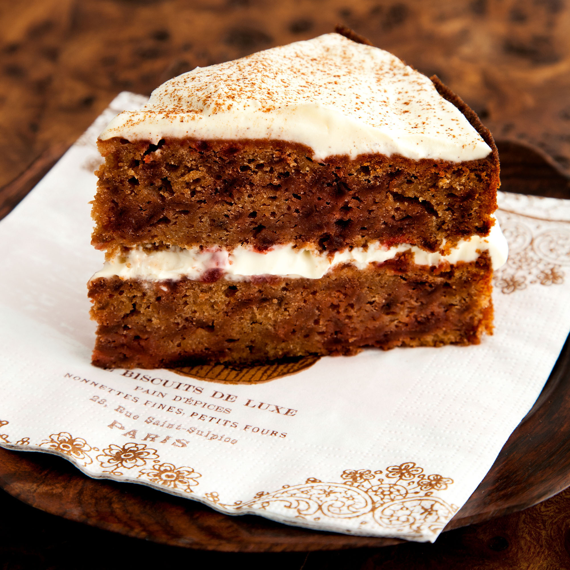 spiced beetroot cake with mascarpone woman and home