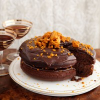 Chocolate and honeycomb torte recipe