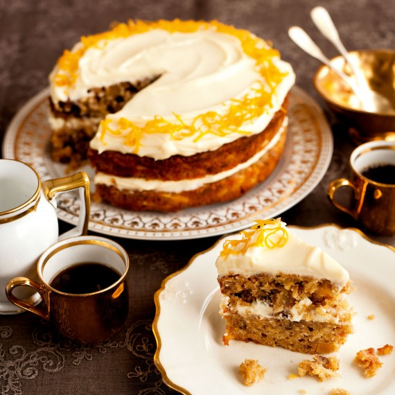 Nutty Orange and Parsnip Cake recipe-cake recipes-recipe ideas-new recipes-woman and home