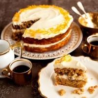 Nutty orange and parsnip cake recipe