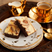 Marbled fudge bars recipe