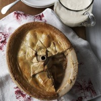 Apple and pear pie with rich cinnamon pastry recipe