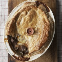 Venison and Stilton Pie