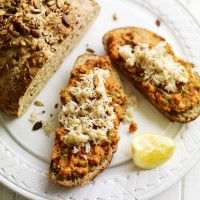 Four-seed soda bread recipe