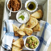 Crispy pitta chips recipe