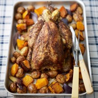 Middle Eastern Roast Chicken with Sumac, Lemon and Rosemary