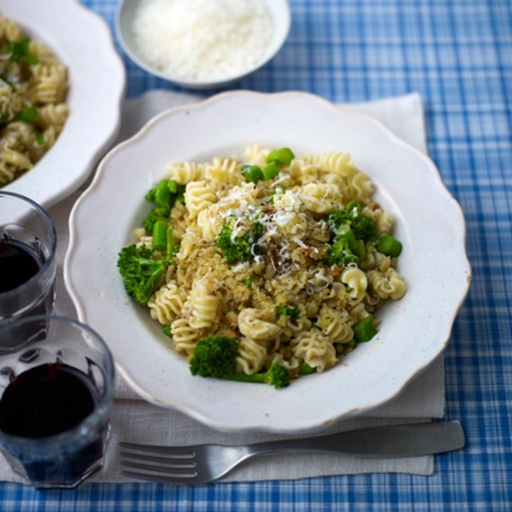 Motori Pasta with Tenderstem Broccoli and Anchovies recipe-recipe ideas-new recipes-woman and home