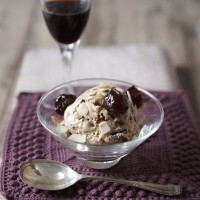 Vanilla ice cream with boozy raisins and Pedro Ximenez sherry recipe