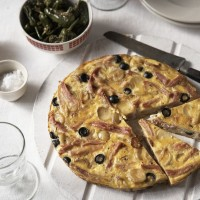 Ham and olive tortilla recipe
