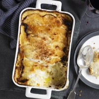 Celeriac gratin with Gruy�re recipe