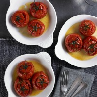 Spanish stuffed tomatoes recipe