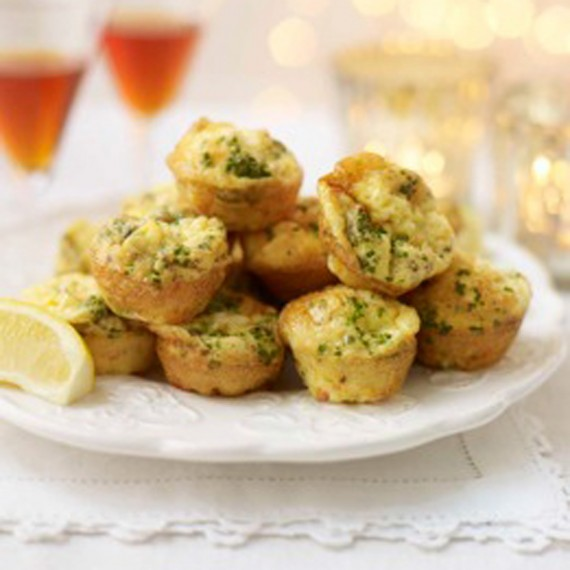 Mini Smoked Salmon and Chive Frittatas recipe-Salmon recipes-recipe ideas-new recipes-woman and home