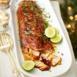 Asian sticky salmon