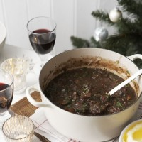 Daube of beef with tapenade recipe