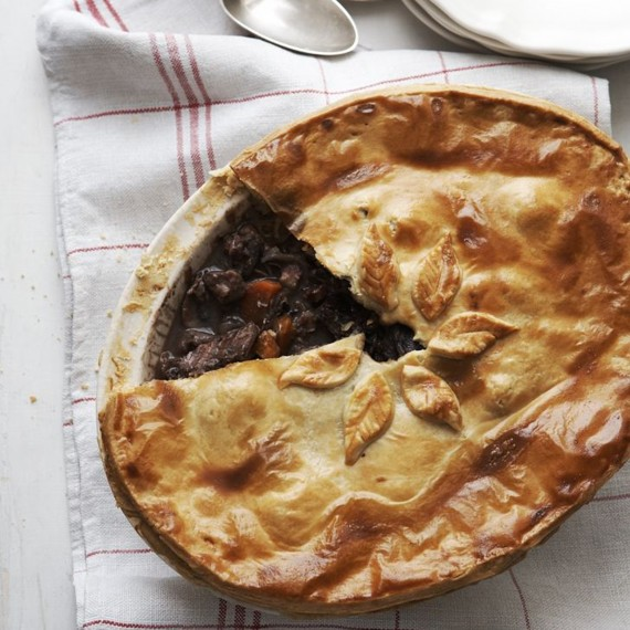 Game Pie with Juniper recipe-Pie recipes-recipe ideas-new recipes-woman and home