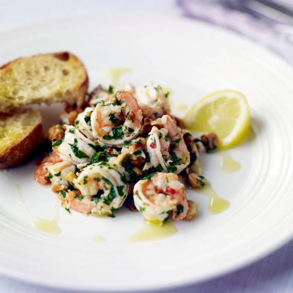 christmas day starter recipes king prawns with thai. Black Bedroom Furniture Sets. Home Design Ideas