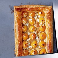 Apricot and almond galette recipe