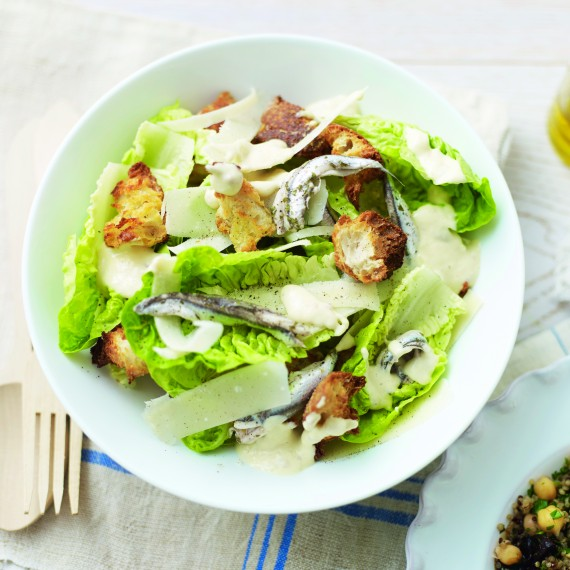 Easy Caesar Salad - Woman And Home