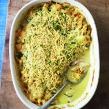 Chicken and mustard gratin recipe