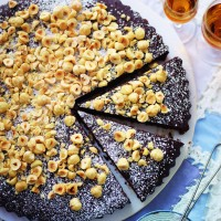 Chocolate, orange and hazelnut torte recipe