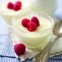 Lower-fat lemon posset recipe