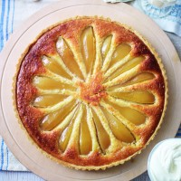 Pear and almond tart recipe