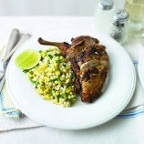 Cajun chicken with giant couscous recipe