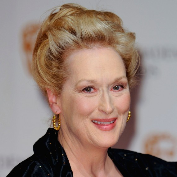 Meryl Streep-BAFTAS 2012-Hair-Beauty-Woman and Home