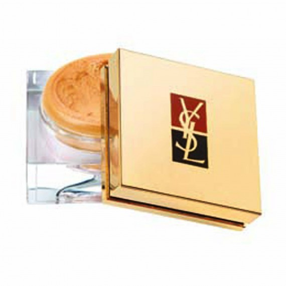 Top-8-Autumn/Winter-Make-up-and-Hair-Trends-womanandhome.com- YSL Fard Lumiere Aquaresistant in golden sand