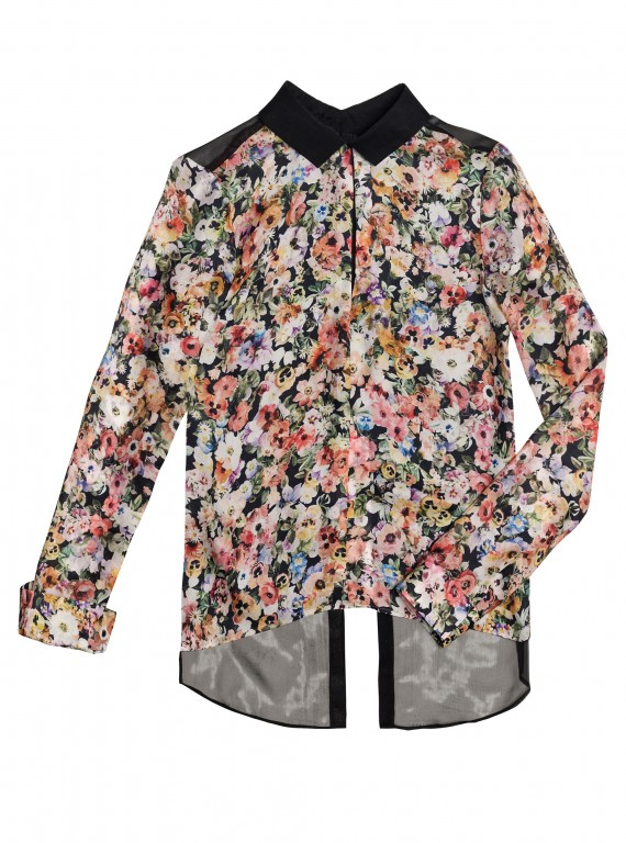 Zara Combined Printed Blouse-Investment Fashion Pieces-Fashion Advice-Style Tips-Woman and Home