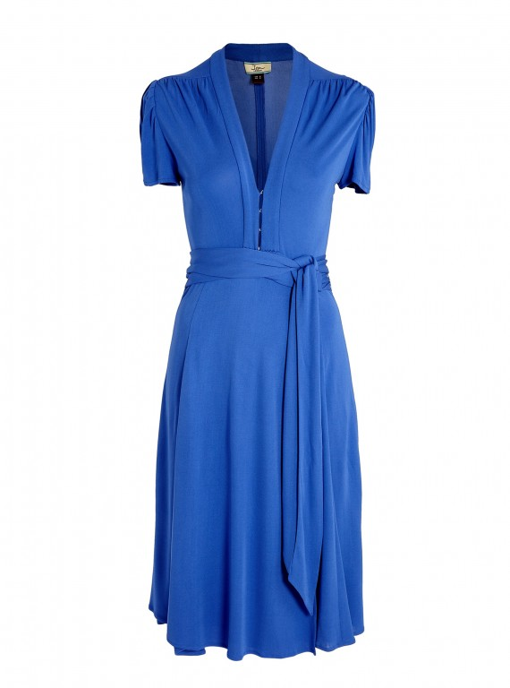 Fashion Buys For Every Age-Fashion Advice-Ladies Fashion-Woman and Home-Issa Blue Wrap Dress