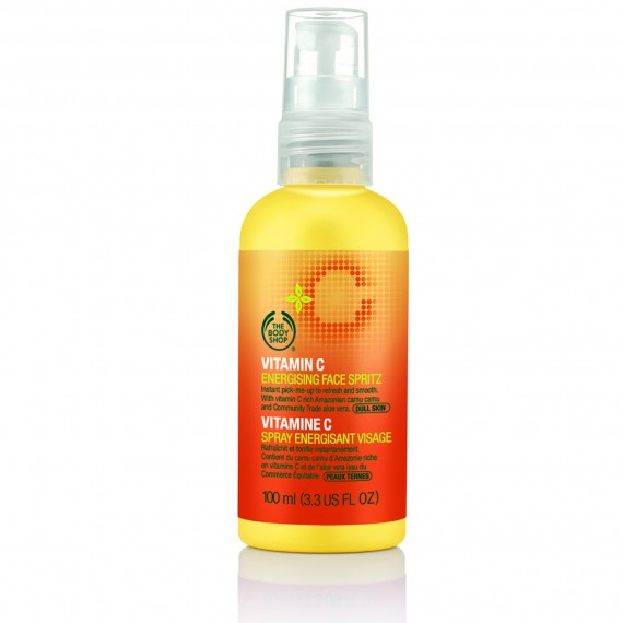 The Body Shop Vitamin C Energising Facial Spritz-beauty tips-skincare-woman and home