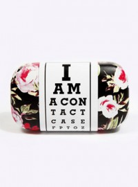 Urban Outfitters Rose Contact Lens Case