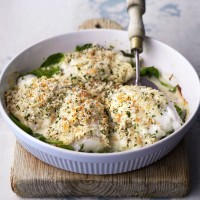 Smoked haddock rarebit recipe
