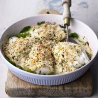 Smoked haddock rarebit recipe