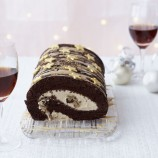 Chocolate and coffee roulade recipe