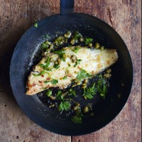 Poisson meuni�re recipe (from The Little Paris Cookbook)