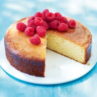 Lemon, almond and yogurt cake recipe