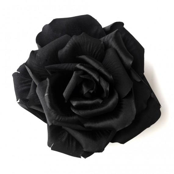 Black Flower Hair Clip 428.jpg