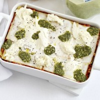 Turkey pesto lasagne recipe