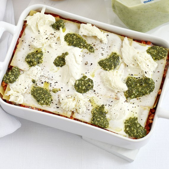 Turkey Pesto Lasagne recipe-Turkey recipes-recipe ideas-new recipes-woman and home