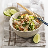 Thai Chicken Salad with Peanuts and Ginger Recipe