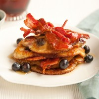 Buttermilk blueberry pancakes recipe